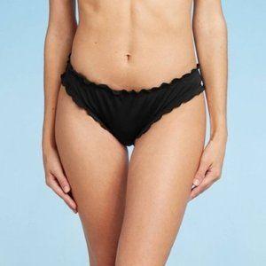Shade & Shore Ruffle Cheeky Bikini Bottom